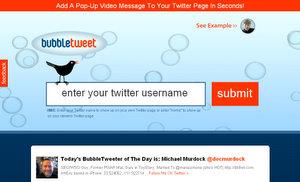 BubbleTweet