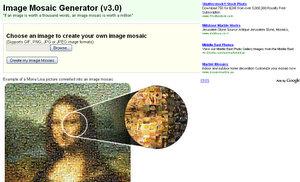 Image Mosaic Generator