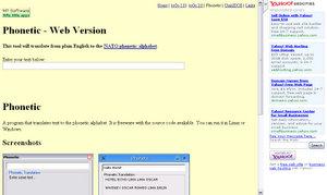 Phonetic-Web Version