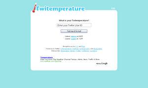 Twitemperature