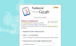 Twittercal