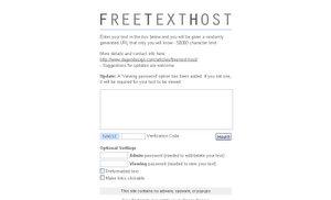 FreeTextHost