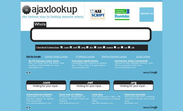 AjaxLookup.com