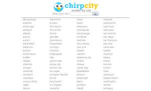 ChirpCity