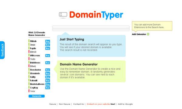 DomainTyper.com