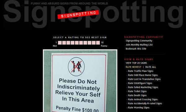 SignSpotting.com