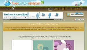 5 Free Online Twitter Background Generators
