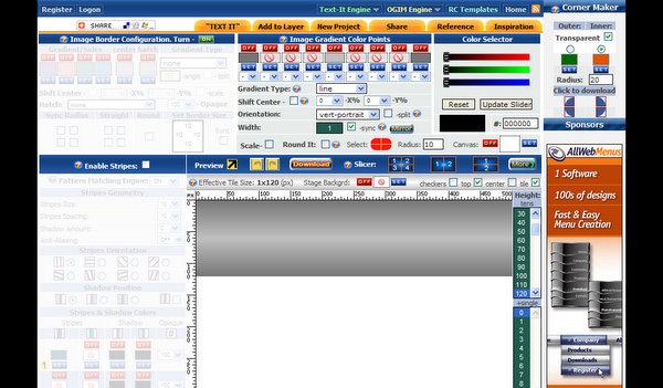 Ogim - Online Gradient Image Maker