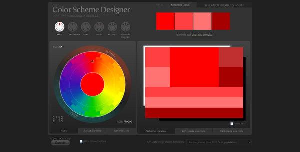 ColorSchemeDesigner.com