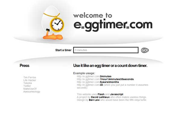 E.ggtimer.com