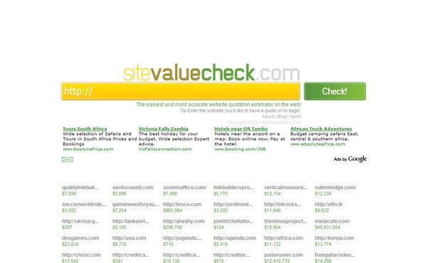 SiteValueCheck.com