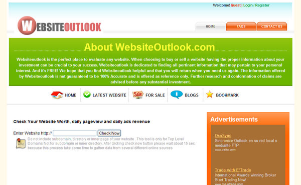 WebsiteOutlook.com