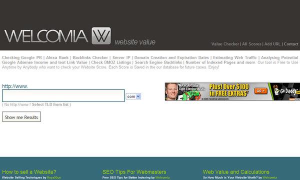 Welcomia.com