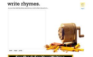 WriteRhymes