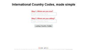 SimpleCountryCodes