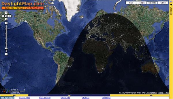 DaylightMap.com