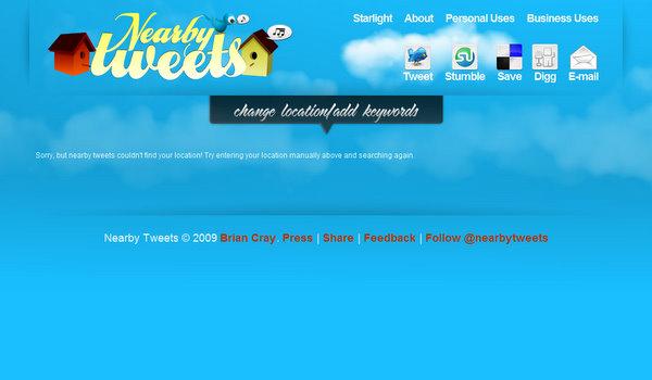 nearbytweets.com