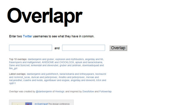 overlapr.com