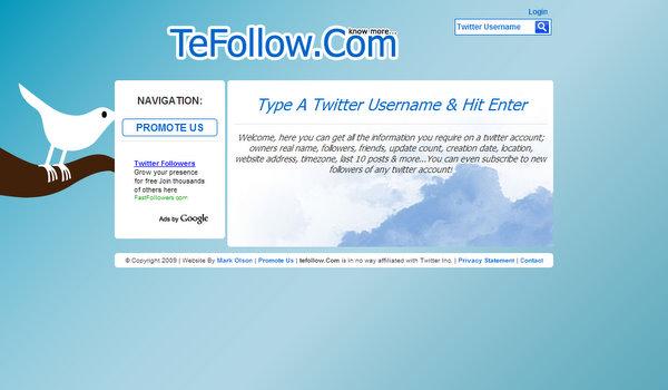 tefollow.com