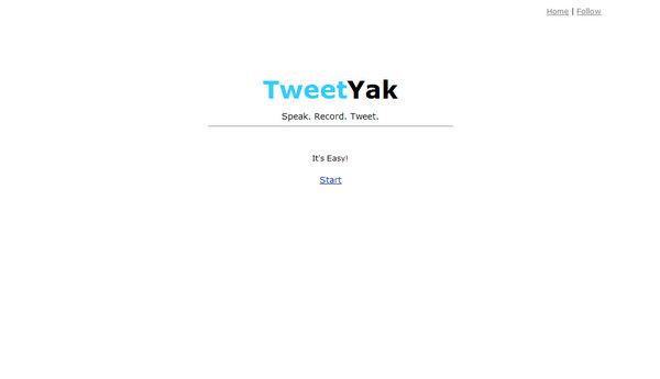tweetyak.com