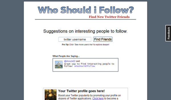 whoshouldifollow.com