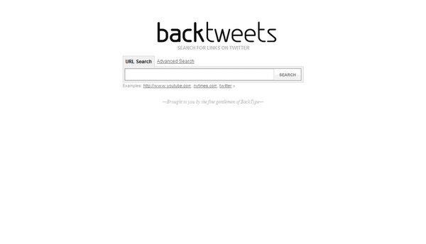 backtweets.com