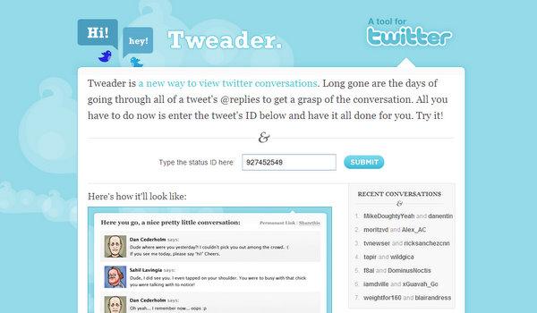 tweader.com