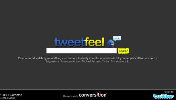 tweetfeel.com