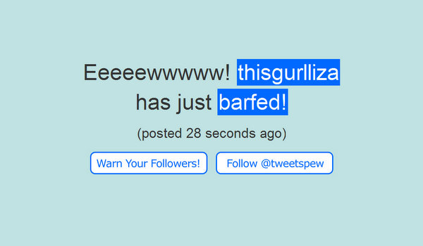 tweetspew.com
