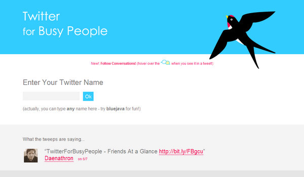twitterforbusypeople.com