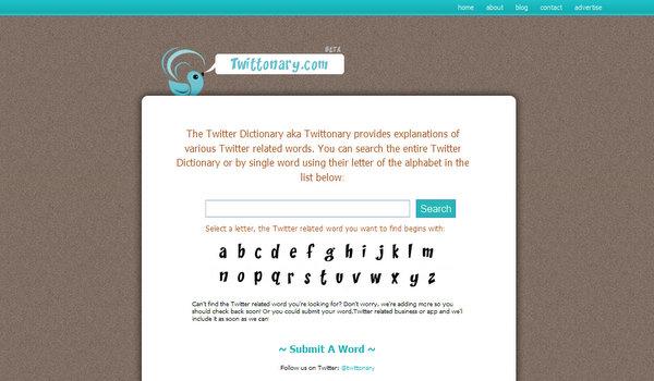 twittonary.com