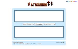Tradukka Singlefunction Con tradukka puedes hacerlo,☝ entra aquí ☝ y averigua como trabaja este traductor. tradukka singlefunction